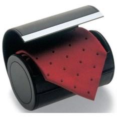 Черный футляр для галстука Giorgio