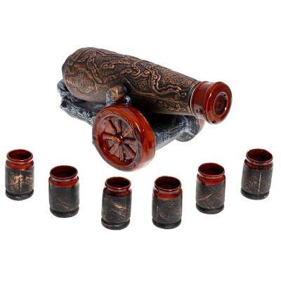 Винный набор Пушка (8 предметов)