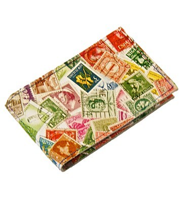 Кожаный держатель для карточек Stamps