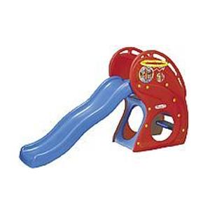 Горка «Дельфин» с баскетбольным кольцом
