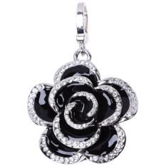 Флешка-кулон с кристаллами Swarovski «Роза», 16 Гб
