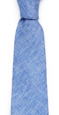 Голубой галстук Fumagalli из льна