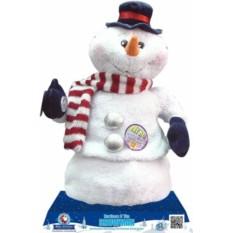 Новогодняя музыкальная игрушка Снеговик Mister Christmas