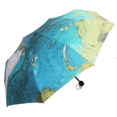 Складной зонт Карта мира