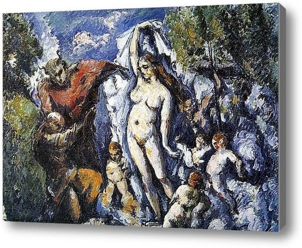 Репродукция картины Обнажённая красавица