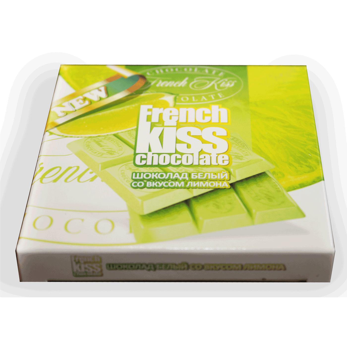 Шоколад белый со вкусом лимона