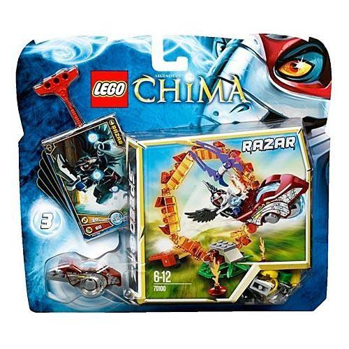 Конструктор Lego Legends of Сhima Кольцо Огня