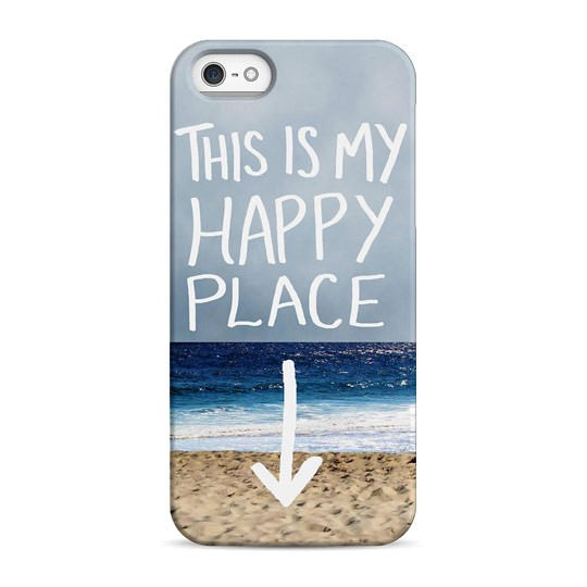 Чехол Happy Place для телефона iPhone 5, 5S, SE