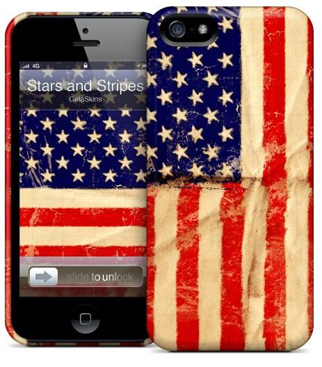 Чехол для iPhone 5 Gelaskins Stars and Stripes