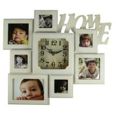 Часы-фоторамка на 7 фото Home