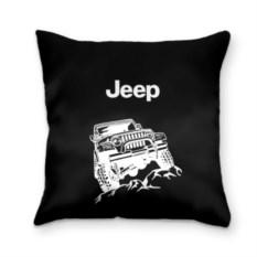 Черная 3D-подушка Jeep