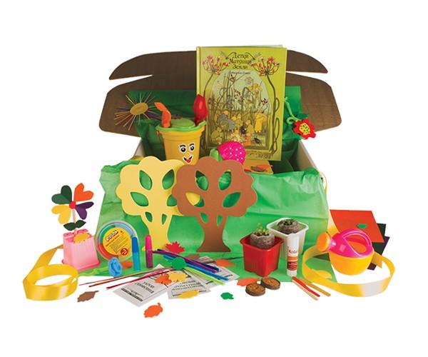 Подарок-сюрприз Коробочка «Растения»