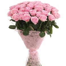 Букет цветов из 33 роз (50см)