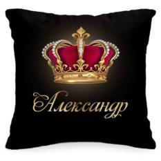 Именная подушка «Корона»