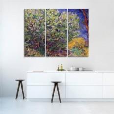 Модульная картина Ван Гог. Куст сирени