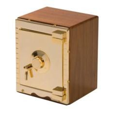 Золотистый мини-сейф