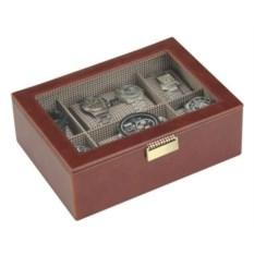Светло-коричневая шкатулка для 8 часов LC Designs Co