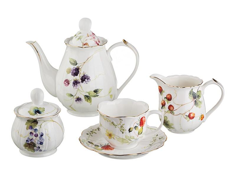 Чайный сервиз на 6 персон Фрутта