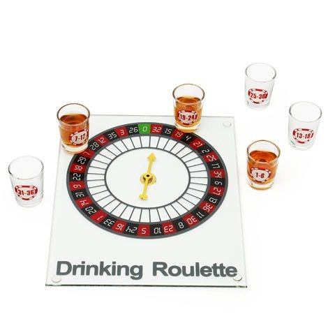 Игра Пьяная рулетка стеклянная