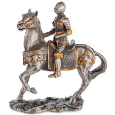Статуэтка «Средневековый рыцарь на коне»