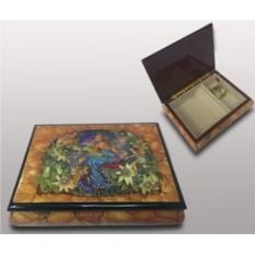 Деревянная шкатулка для ювелирных украшений