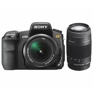 Фотоаппарат Sony a200W kit