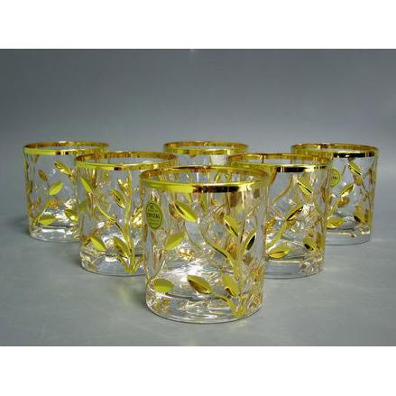 Набор стаканов «Золотой лепесток»