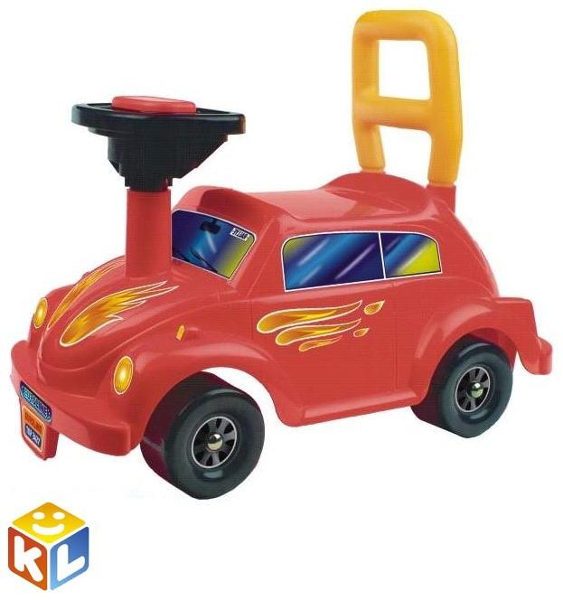 Детская мишинка-каталка Авто Go