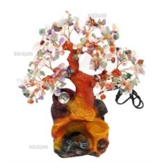 Настольный фонтан Дерево Изобилия (35 см, подсветка)