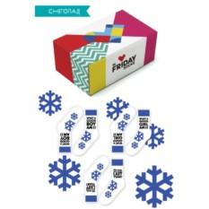 Дизайнерские носки Снегопад