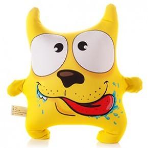 Подушка-игрушка антистресс Пёс озорник