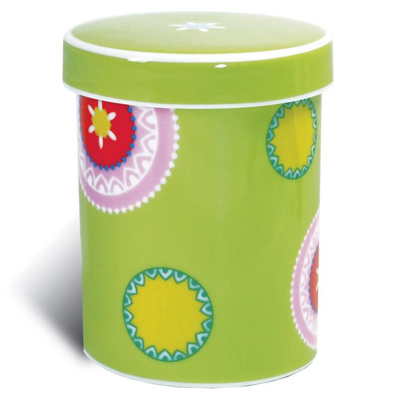Емкость для хранения и сервировки 2 в 1 Marai green