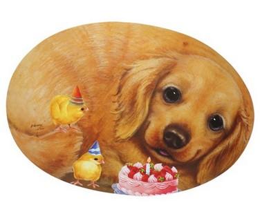Салфетка под тарелку и приборы Собачка Коко