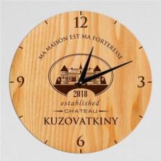 Настенные именные часы Chateau
