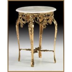 Круглый стол из бронзы