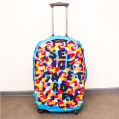 Чехол для чемодана Гирлянда