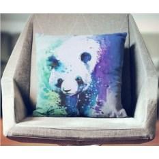Декоративная наволочка Взрыв цвета: Панда