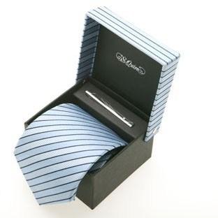 Набор: галстук и заколка для галстука.S.QUIRE 100902lbl