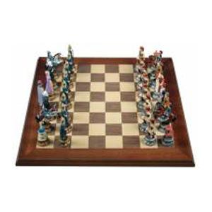 Шахматы из олова «Греки и турки»