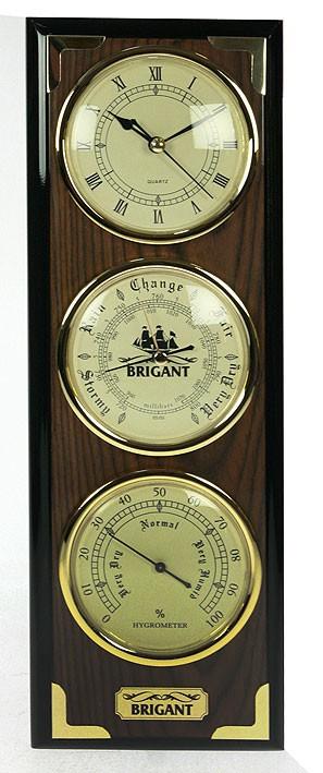 Часы-метеостанция BRIGANT; барометр, часы, гигрометр