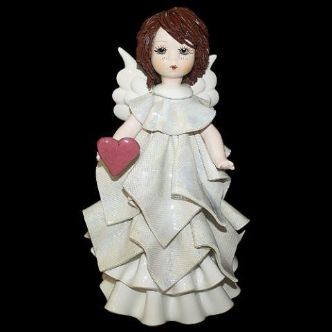 «Ангел с сердцем» статуэтка