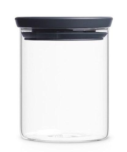Стеклянная банка для хранения, объем: 0,6 л