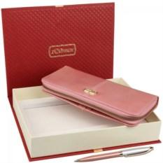 Подарочный набор: кошелек и ручка