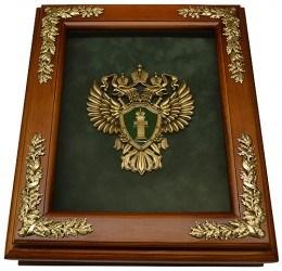 Деревянная ключница Эмблема Прокуратуры
