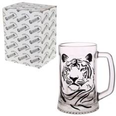 Кружка для пива в упаковке Тигр