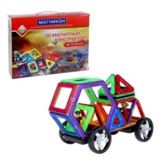 Магнитный 3D конструктор Магникон Луноход MK-40