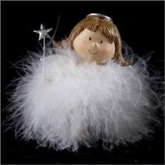 Декоративная фигурка с подсветкой Ангелочек