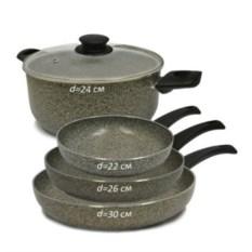 Набор посуды Alma Granitika (5 предметов)