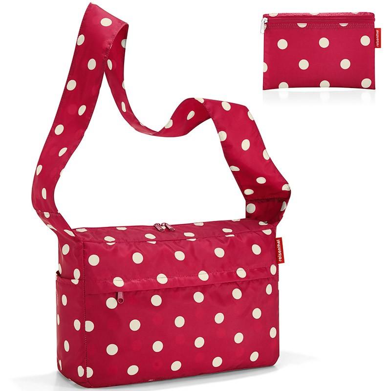 Сумка складная Mini maxi citybag ruby dots