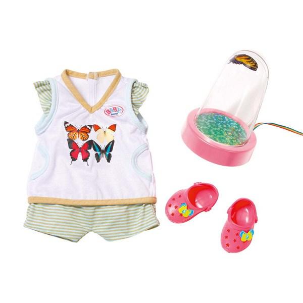 Одежда для куклы Zapf Creation Набор с бабочкой